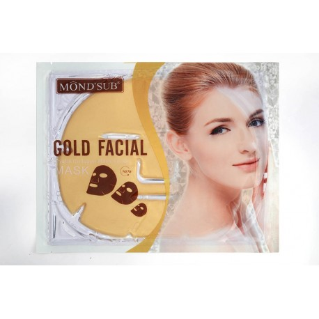 Mondsub Skin Care Anti-Wrinkle 24K Gold Collagen Face Mask