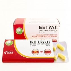 Бетуал, экстракт бересты