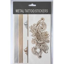 "Флэш-тату Metal Tattoo Stickers ""Огурцы"" (FT4)"
