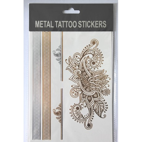 "Флэш-тату Metal Tattoo Stickers ""Огурцы"" (FT4)"