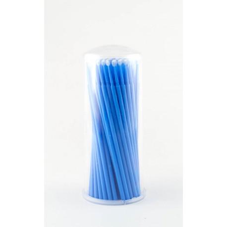 Аппликатор (кисть для  ресниц) синий, 100 шт.