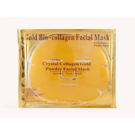 Золотая маска для лица с коллагеном Gold Bio-collagen Facial Mask