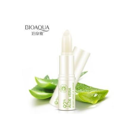 Бальзам для губ с алоэ BIOAQUA с фактором защиты от солнца