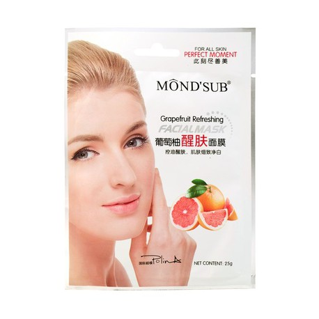 Mondsub Grapefruit Refreshing Facial Mask
