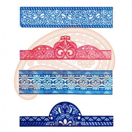 Трафареты для мехенди (браслеты)