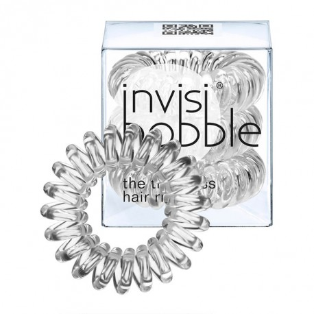 Резинка для волос Invisibobble, 3 штуки (прозрачный)