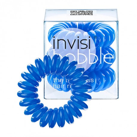 Резинка для волос Invisibobble, 3 штуки (синий)