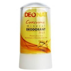Природный дезодорант DEONAT Кристалл с экстрактом куркумы
