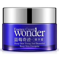 Крем питательный с черникой Wonder Essence Cream Bioaqua, 50 гр.