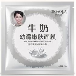 Тканевая маска для лица Bioaqua Milk Smooth Rejuvenation Mask