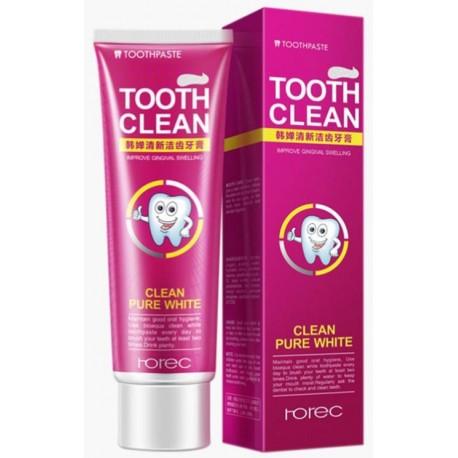 Зубная паста Rorec Tooth Clean Pure White со вкусом клюквы